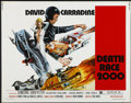 "Movie Posters:Cult Classic, Death Race 2000 (New World, 1975). Half Sheet (22"" X 28""). CultClassic. ..."