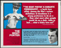 "Movie Posters:Drama, The Night Porter (AVCO Embassy, 1974). Half Sheet (22"" X 28"") and Pressbook (Multiple Pages). Drama. ... (Total: 2 Items)"