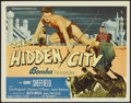 "Movie Posters:Adventure, The Hidden City (Monogram, 1950). Title Lobby Card (11"" X 14"").Adventure. ..."