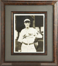 """Autographs:Photos, Gabby Street Signed Photograph. """"The Old Sarge"""" Gabby Street once caught a ball dropped from the top of the Washington Monu..."""