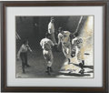 "Autographs:Photos, Ted Williams Signed Oversized Photograph. A delightful oversized(16x20"") representation of the Splendid Splinter places hi..."