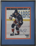 """Hockey Collectibles:Photos, Wayne Gretzky Single Signed Photograph. The 8x10"""" color photographis signed by the greatest hockey player to ever strap on..."""