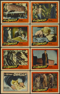 """Movie Posters:Horror, The Return of Dracula (United Artists, 1958). Lobby Card Set of 8 (11"""" X 14""""). Horror.... (Total: 8 Items)"""