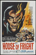 "Movie Posters:Horror, Jekyll's Inferno (American International, 1961). One Sheet (27"" X 41""). Horror. ..."