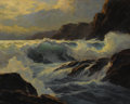 Paintings, WILLIAM COLUMBUS EHRIG (American 1892-1942). Spindrift, circa 1930. Oil on original unlined canvas. 22 x 28 inches (55.9...
