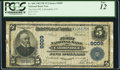 National Bank Notes:Colorado, Carbondale, CO - $5 1902 Plain Back Fr. 600 The First NB Ch. # 9009. ...