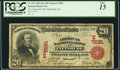 National Bank Notes:Pennsylvania, Pittsburg, PA - $20 1902 Red Seal Fr. 639 The American NB Ch. # (E)7581. ...