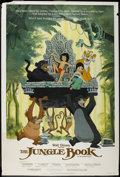 "Movie Posters:Animated, The Jungle Book (Buena Vista, R-1984). Poster (40"" X 60""). Animated...."