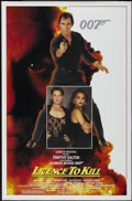 """Movie Posters:James Bond, Licence to Kill (United Artists, 1989). One Sheet (27"""" X 41"""").James Bond...."""
