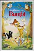 "Movie Posters:Animated, Bambi (Buena Vista, R-1988). One Sheet (27"" X 41""). Animated...."