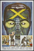 "Movie Posters:Science Fiction, X-The Man With the X-Ray Eyes (American International, 1963). One Sheet (27"" X 41""). Science Fiction...."