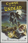 """Movie Posters:Horror, Curse of the Undead (Universal International, 1959). One Sheet (27""""X 41""""). Horror.. ..."""