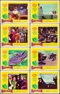 "Movie Posters:Action, Batman (20th Century Fox, 1966). Lobby Card Set of 8 (11"" X 14"").. ... (Total: 8 Items)"