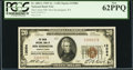 National Bank Notes:Pennsylvania, New Kensington, PA - $20 1929 Ty. 1 The Union NB Ch. # 13084. ...