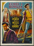 "Movie Posters:Adventure, Prince of Foxes (20th Century Fox, 1949). French Grande (47"" X 63"")Style B. Adventure. ..."