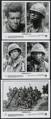 Hamburger Hill (Paramount, 1987). Presskit (9 Stills). War