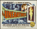 """Movie Posters:Science Fiction, The Unearthly (Republic, 1957). Half Sheet (22"""" X 28""""). ScienceFiction. ..."""