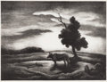 Prints, THOMAS HART BENTON (1889-1975). Sunset, 1941. Lithograph on paper. 10 x 13 inches (25.4 x 33.0 cm). Signed lower right. ...