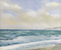 Texas:Early Texas Art - Impressionists, WILLIAM SLAUGHTER (1923-2003). Untitled Seascape. Oil on canvas. 20x 24 inches (50.8 x 61.0 cm). Signed lower right. ...