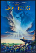 "Movie Posters:Animation, The Lion King (Buena Vista, 1994). Mini Poster (11.25"" X 27"") SS Advance. Animation.. ..."