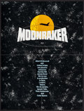 "Movie Posters:James Bond, Moonraker (United Artists, 1979). Poster (20.5"" X 27"") &Fold-Out Promo (Folded: 10.5"" X 14"", Unfolded: 21"" X 27.5""). James... (Total: 2 Items)"