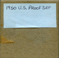 proof sets: , 1950 Uncertified Proof Set. The set in still in it's cardboard holder as originally issued. No returns will be accepted ... (Total: 5 coins)