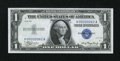 Small Size:Silver Certificates, Fr. 1607 $1 1935 Silver Certificate. Low Serial Number 62. Choice Crisp Uncirculated.. ...