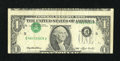 Error Notes:Inverted Third Printings, Fr. 1918-F $1 1993 Federal Reserve Note. Fine-Very Fine.. ...