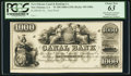 Obsoletes By State:Louisiana, New Orleans, LA- New Orleans Canal & Banking Co. $1000 as G80a Proof. ...
