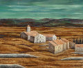 Paintings, Jean-Pierre Capron (French, 1921-1997). Landscape, 1960. Oil on canvas. 23-3/4 x 29 inches (60.3 x 73.7 cm). Signed and ...