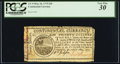Colonial Notes:Continental Currency, Continental Currency May 10, 1775 $20 PCGS Very Fine 30.. ...