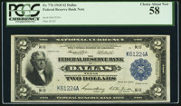 Fr. 776 $2 1918 Federal Reserve Bank Note PCGS Choice About New 58