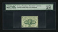 Fractional Currency:First Issue, Fr. 1242 10c First Issue PMG Choice About Unc 58 EPQ....