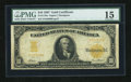 Large Size:Gold Certificates, Fr. 1170a $10 1907 Gold Certificate PMG Choice Fine 15....