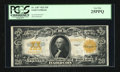 Large Size:Gold Certificates, Fr. 1187 $20 1922 Gold Certificate PCGS Very Fine 25PPQ....
