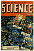 Golden Age (1938-1955):Science Fiction, Science Comics #3 (Ace, 1946) Condition: VF-....
