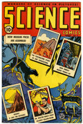Golden Age (1938-1955):Non-Fiction, Science Comics #2 (Ace, 1946) Condition: VF/NM....