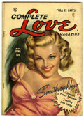 Golden Age (1938-1955):Romance, Complete Love Magazine V26#2 (Ace, 1951) Condition: GD/VG....