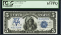 Large Size:Silver Certificates, Fr. 280 Mule $5 1899 Silver Certificate PCGS Choice New 63PPQ.. ...