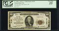 National Bank Notes:Wisconsin, Lake Geneva, WI - $100 1929 Ty. 1 The First NB Ch. # 3125. ...