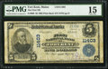 National Bank Notes:Maine, Fort Kent, ME - $5 1902 Plain Back Fr. 606 The First NB Ch. #11403. ...