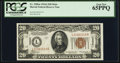 Small Size:World War II Emergency Notes, Fr. 2305 $20 1934A Mule Hawaii Federal Reserve Note. PCGS Gem New65PPQ.. ...