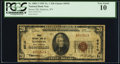 National Bank Notes:West Virginia, Madison, WV - $20 1929 Ty. 1 Boone NB Ch. # 6510. ...
