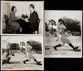 Baseball Collectibles:Photos, Lou Gehrig Type II Photographs Lot of 7. ...
