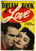 Golden Age (1938-1955):Romance, Dream Book of Love #1 (Magazine Enterprises, 1954) Condition:GD....