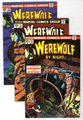 Bronze Age (1970-1979):Horror, Werewolf by Night Group (Marvel, 1974-76) Condition: AverageVF+.... (Total: 18 Comic Books)