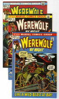 Bronze Age (1970-1979):Horror, Werewolf by Night #2-5 Group (Marvel, 1972-73) Condition: AverageVF/NM.... (Total: 4 Comic Books)
