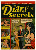 Golden Age (1938-1955):Romance, Diary Secrets #10 (St. John, 1952) Condition: FN....