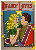 Golden Age (1938-1955):Romance, Diary Loves #2 (Quality, 1949) Condition: VG/FN....