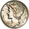 Proof Mercury Dimes, 1936 10C PR67 PCGS....
